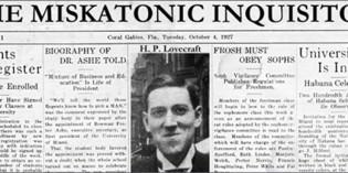 Benvenuti alla Miskatonic University, cari amanti di H.P. Lovecraft