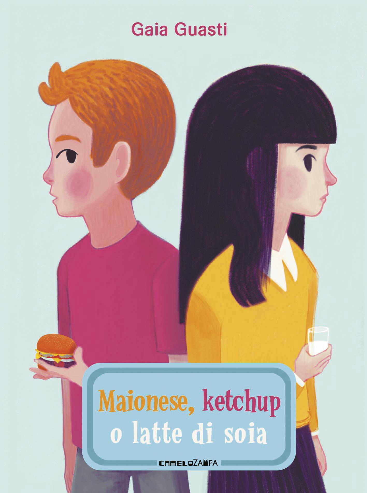 maionese ketchup o latte di soia