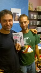 Francesco Muzzopappa insieme a Gabriele Scandolaro