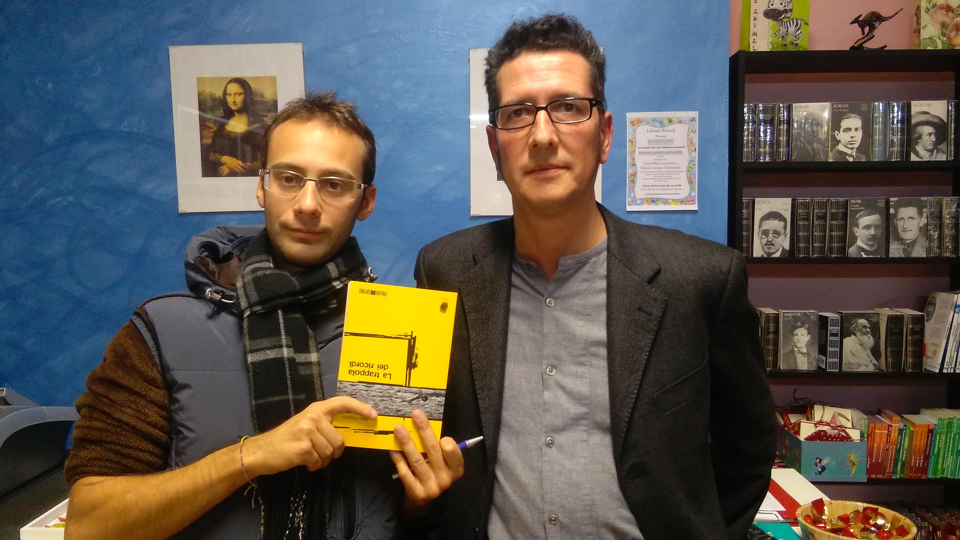 Gabriele Scandolaro e Aldo Pagano
